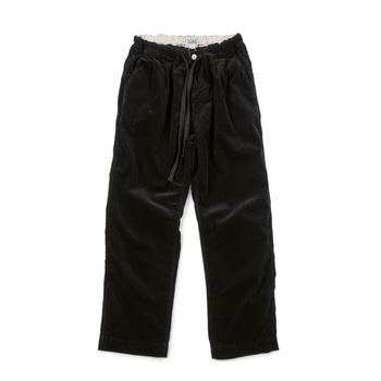 빅유니온Corduroy Easy Pants Black