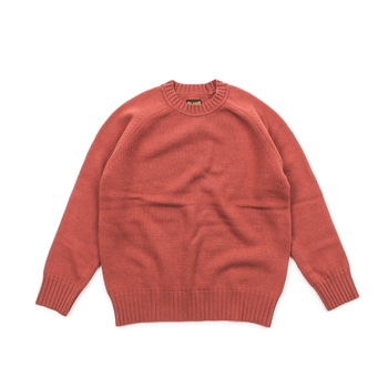 빅유니온Wool Crew Neck KnitBlush