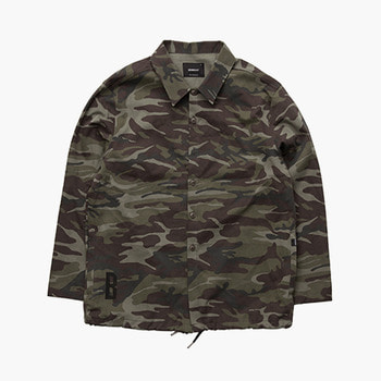 브라운브레스B CAMO SHIRTS JACKETCAMO