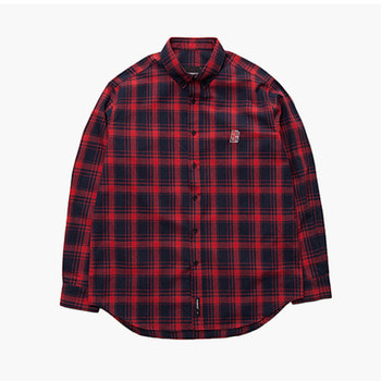 브라운브레스B MOVE CHECK SHIRTSCHECK / RED