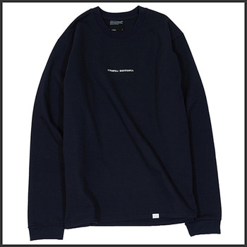 노매뉴얼DISTOPIA LONG SLEEVE TEE - DARK NAVY