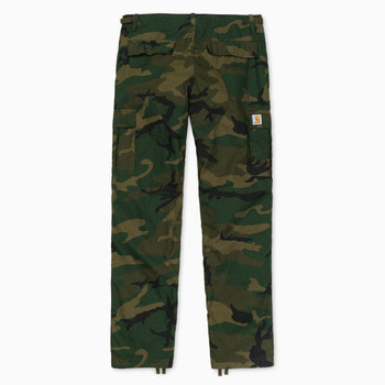 칼하트WIP에비에이션 팬츠 콜롬비아AVIATION PANT COLUMBIACAMO COMBAT GREEN RINSED