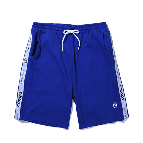본챔스TAPE SHORTS PANTS CERBMTP01BL