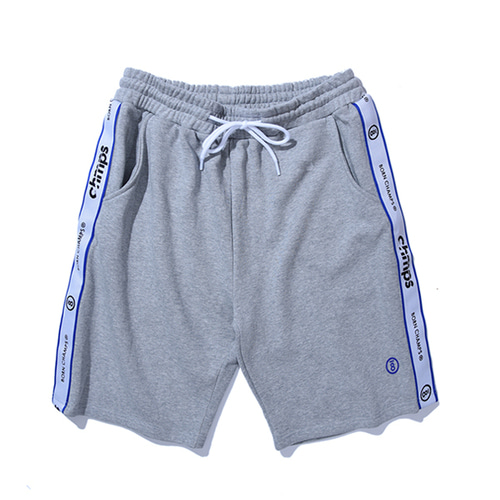본챔스TAPE SHORTS PANTS CERBMTP01GY