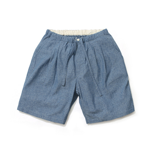 라퍼지스토어Semi Relax Shorts_Chambray