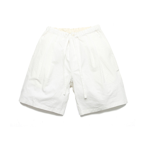 라퍼지스토어Semi Relax Shorts_White