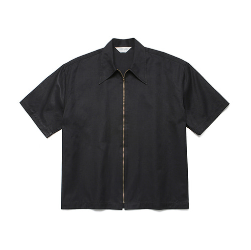 라퍼지스토어Two Way 1/2 Shirt Jacket_Black