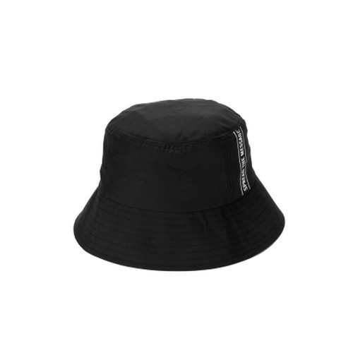 브라운브레스STEADY B BUCKET HATBLACK