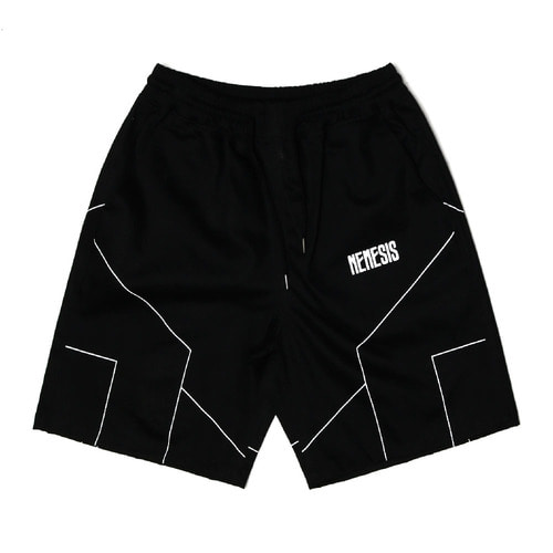 네스티팜[NYPM] DIMENSIONAL SHORT PANTS (BLK)