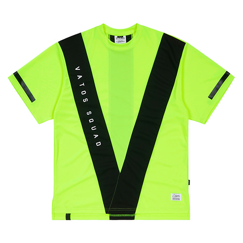 스티그마VS COOLON OVERSIZED T-SHIRTS NEON GREEN