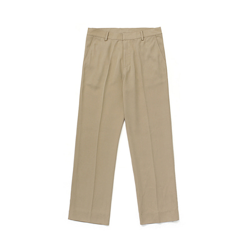 라퍼지스토어Frais Long Wide Slacks_Beige