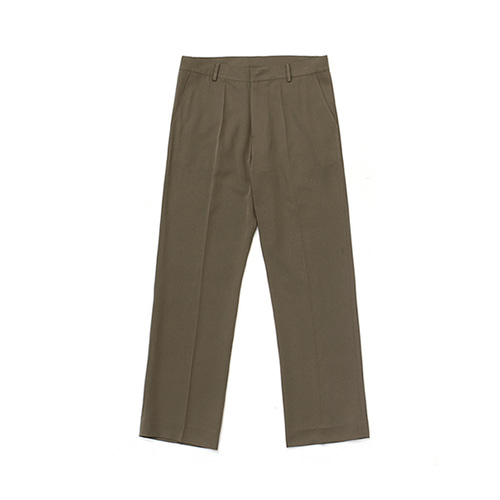 라퍼지스토어Frais Long Wide Slacks_Cocoa