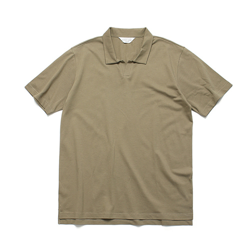 라퍼지스토어PK Slip collar Tee_Brown