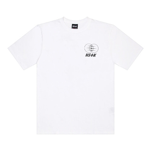 네스티킥[NSTK] ELECTRIC WAGON TEE (WHT)
