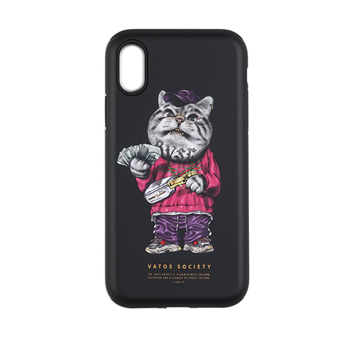 스티그마PHONE CASE CATSGANG BLACK iPHONE 8 / 8+ / X