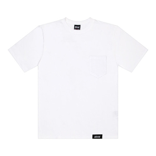 네스티킥[NSTK] EASY CODE 002 POCKET TEE (WHT)