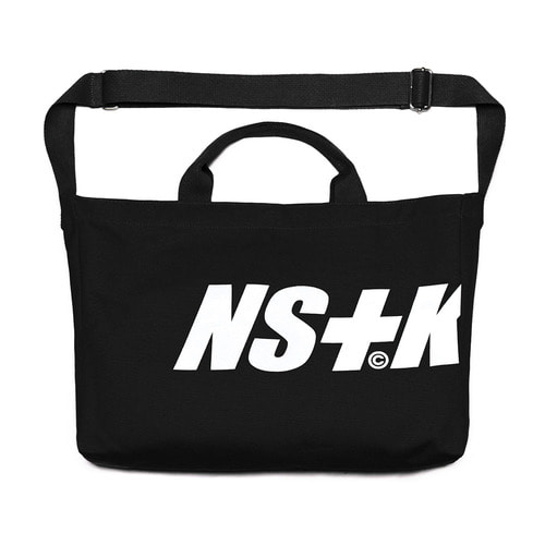 네스티킥[NSTK] NSTK 2WAY BAG (BLK)