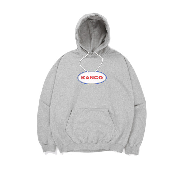 칸코칸코 오발 로고 후디KANCO OVAL LOGO HOODIEHEATHER GRAY