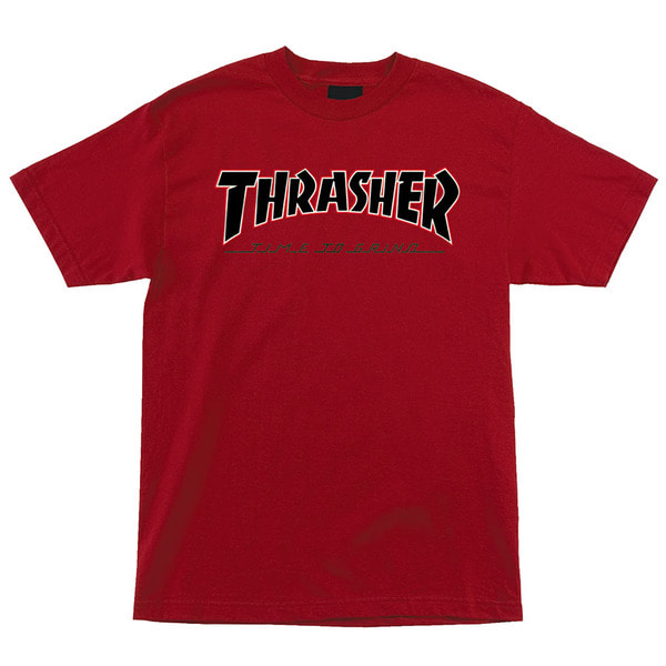 트레셔INDEPENDENT X THRASHER트레셔 TTG 숏슬리브 티THRASHER TTG S/S TEECARDINAL RED