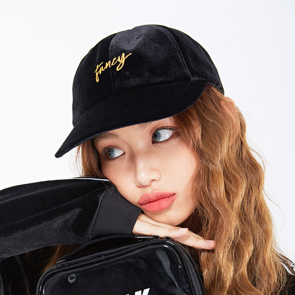 네스티킥VELVET FANCY CAP BLACK (NF18A086H)