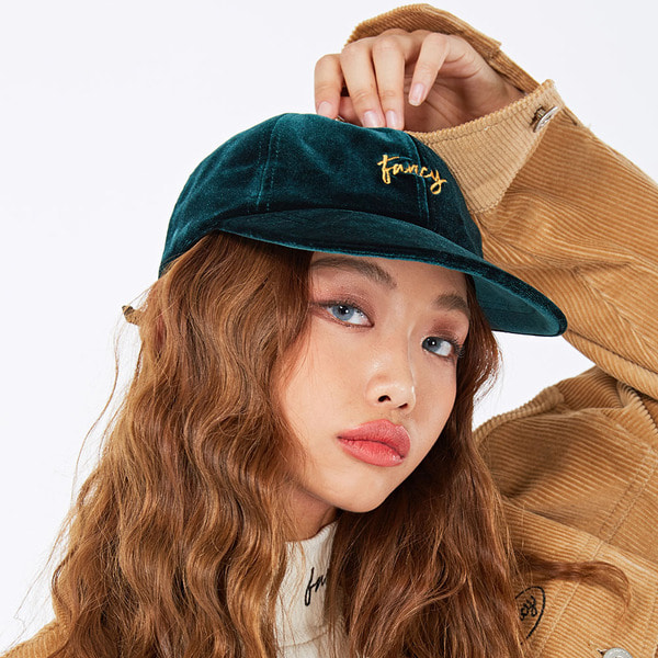네스티킥VELVET FANCY CAP GREEN (NF18A086H)