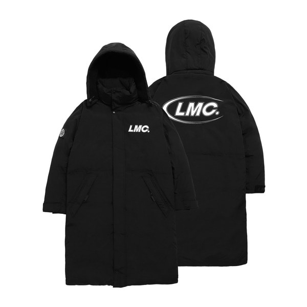 엘엠씨롱패딩LMC CO TEAM PADDED LONG PARKABLACK