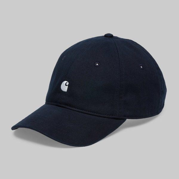 칼하트WIP매디슨 로고 캡MADISON LOGO CAPDARK NAVY/WHITE