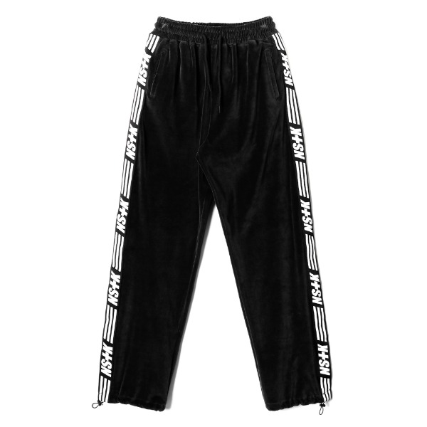 네스티킥[NK] NSTK VELOURS PANTS BLACK (NK18A067H)