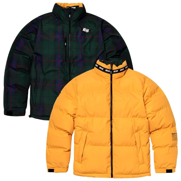 MAZE REVERSIBLE DOWN JACKET YELLOW (NK18A002H)