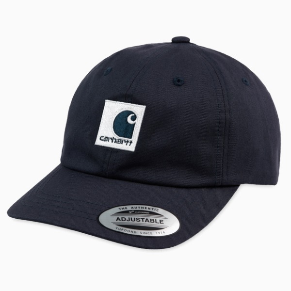 칼하트WIP루이스턴 캡LEWISTON CAPDARK NAVY/WAX