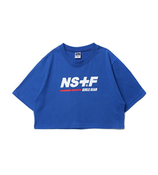 네스티팬시ORIGIN LOGO CROP TEE BLUE (NK19S045H)