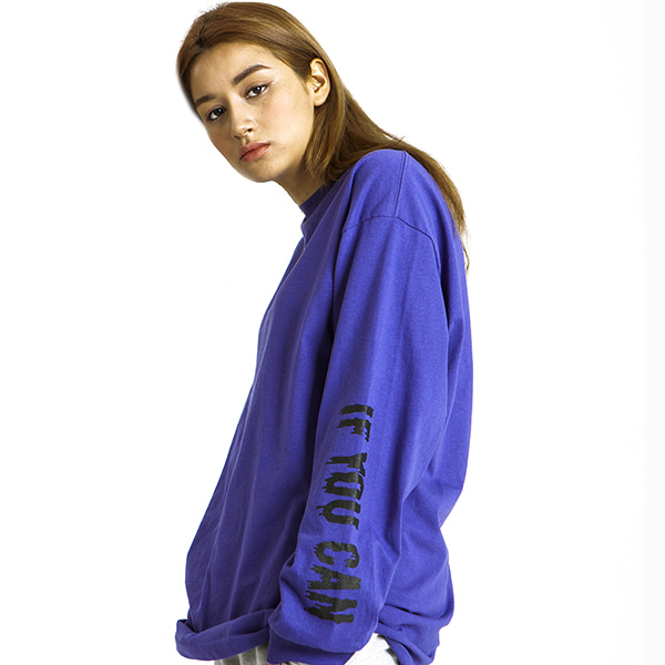 키치스KITSCH ME IF YOU CAN LONG SLEEVEPURPLE