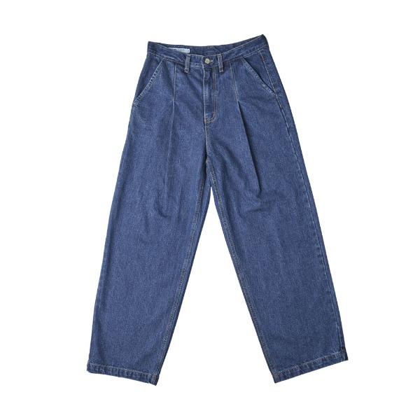 헤비컬쳐Pintuck Denim PantsINDIGO