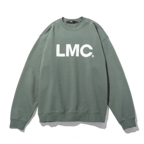 엘엠씨OG휠로고 맨투맨LMC OG WHEEL SWEATSHIRTOLIVE