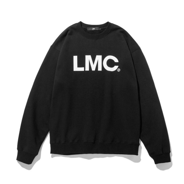 엘엠씨OG휠로고 맨투맨LMC OG WHEEL SWEATSHIRTBLACK