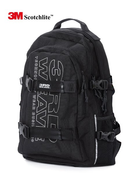 3RD WEAVE (10월25일 예약발송) ULTIMATE BACKPACK / BLACK-SCOTCH