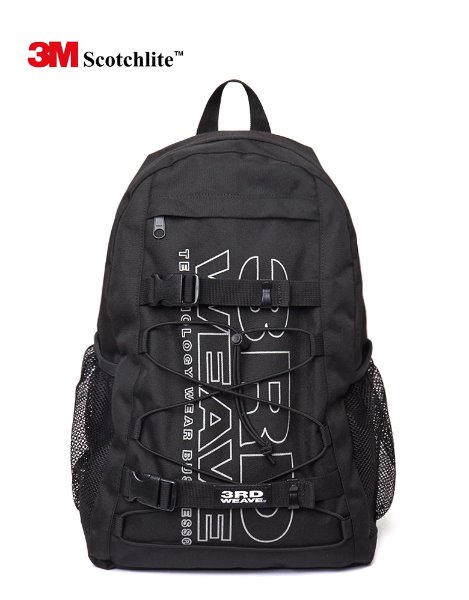3RD WEAVE3M SCOTCHLITE™ BACKPACK / BLACK