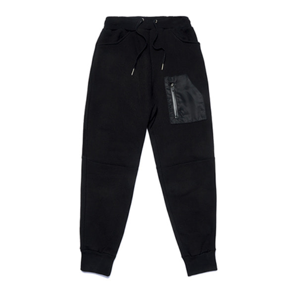 스티그마STGM TECH HEAVY SWEAT JOGGER PANTS BLACK