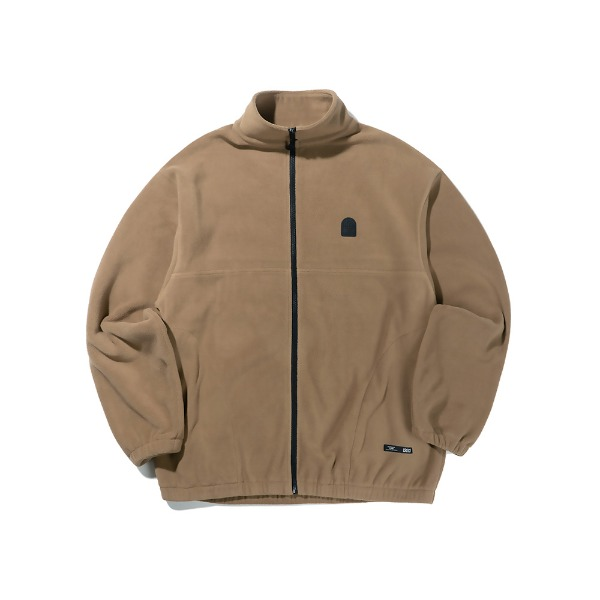 크리틱WAPPEN FLEECE JACKET(BROWN)_CTTZPJK08UE2