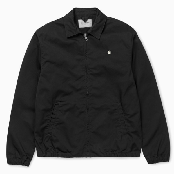 칼하트WIP메디슨 자켓MADISON JACKET (Black/Wax Rinsed)