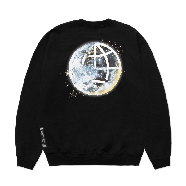 엘엠씨문 맨투맨LMC MOON SWEATSHIRTS (Black)