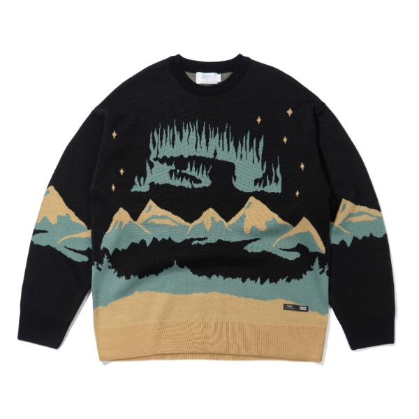 크리틱AURORA KNIT(BLACK)