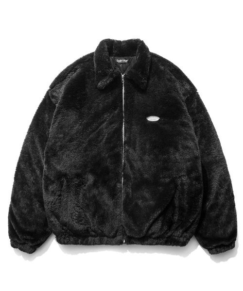 세인트페인GOTHA FUR JACKET (BLACK)