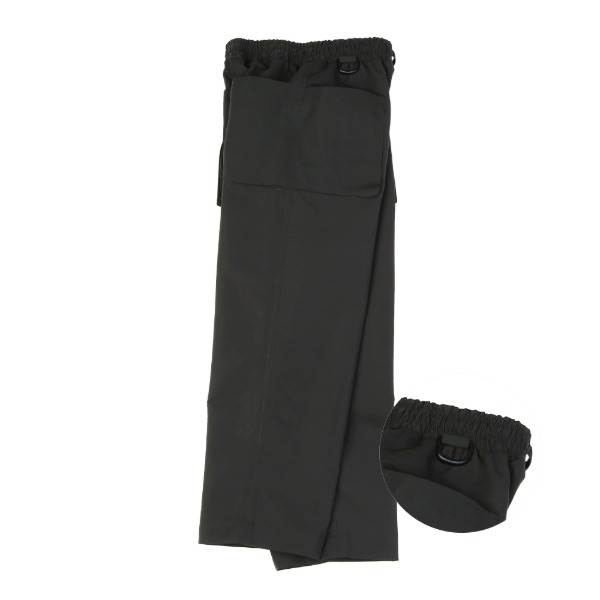 라운지 에이피티 Double Pocket Handy Pants_Black