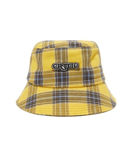 크리틱CHECK BUCKET HAT(Yellow)