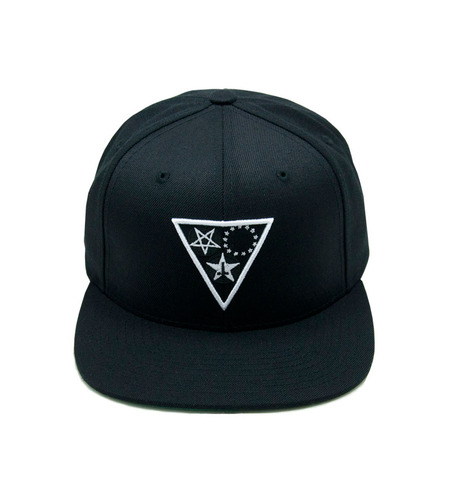 Land of the Lost Snap Back  Black