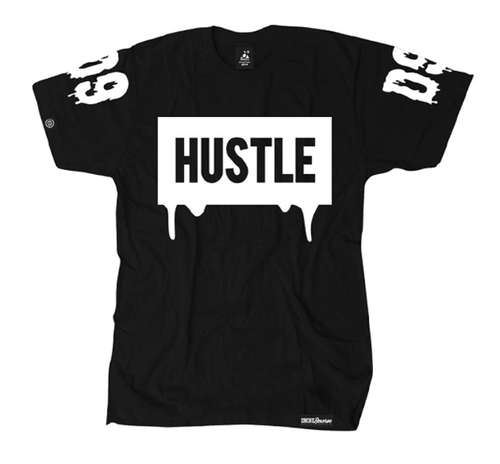 HUSTLE BLOCK S/S TEE