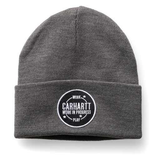 WORK AND PLAY BEANIEDARK GREY HEATHER