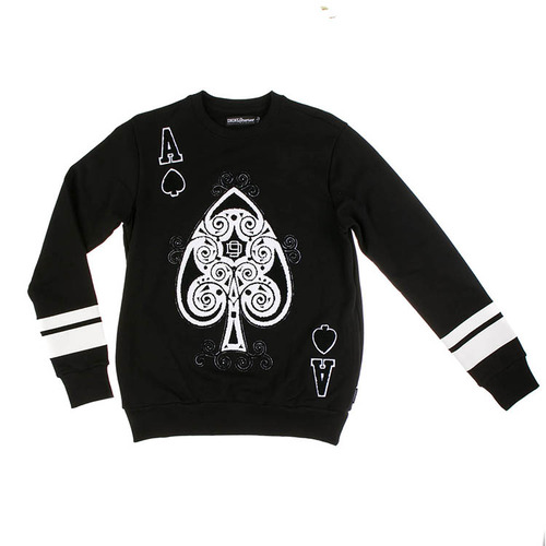 디나인 ACE OF SPADES CREWNECK