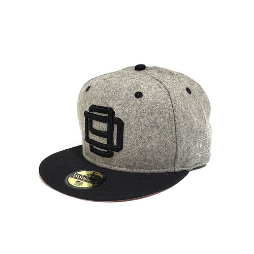 디나인 WOOL D9 XOVER DEEP THROAT (GRY) SNAPBACK